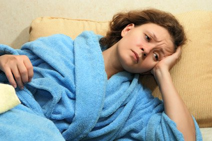 Image of Woman Who Can't Get Enough Sleep